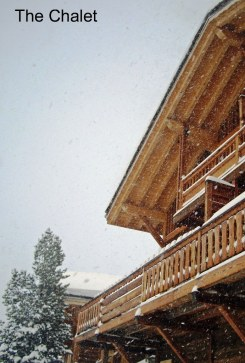 The Chalet in Snow
